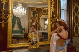 In bedroom by Wiki-chan90