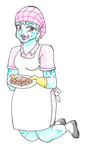 Lunch Lady by starthedragon100