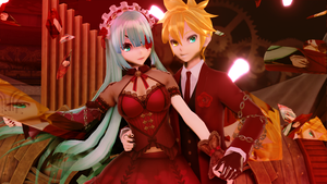 [MMD Video+Models+Motion+DL] Ghost Rule (Cruher-P) by 01mikuxlen02