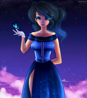 PC Queen of butterfly by Klaudy-na