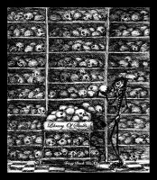 Library of Skulls by TracyBach