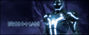 Tron-Man? by AznSoraX