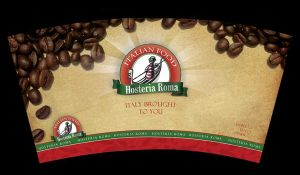 hosteria roma cofee cup by ramywafaa