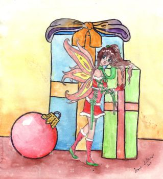 Christmas Fairy by sapphire07