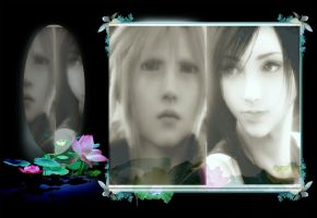 cute couple cloud and tifa by finaldreams7
