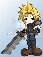 Cloud - Final Fantasy 7 by amy-art