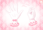 Sweet Loli Gloves by Neko-Vi