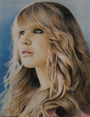Jennifer Lawrence Portrait by prod44