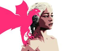 mother of dragons by mixmasterangel