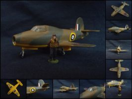 Gloster E.28/39 [1:72] by WormWoodTheStar
