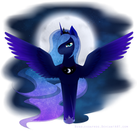 Princess Luna by BubblesTea