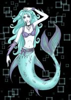 Electric mermaid by oblivionwriter