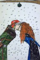 Merry Christmas From Merida and Kevlron by Supajames1