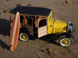 Ford Model A Woody Wagon by Jetster1