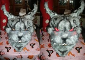 Cheshire Cat fursuit mask by Crazy-Maizy