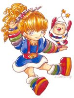 2007 :: Chibi Rainbow Brite by PinkAppleJam