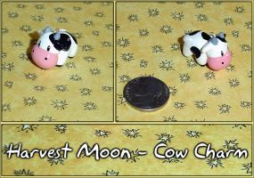 Harvest Moon Cow Charm by YellerCrakka