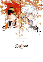 DGM: Believe by panna-acida