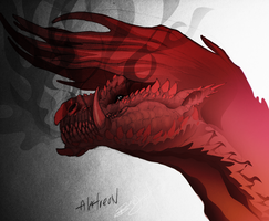 Red Alatreon by CosmicAcorn