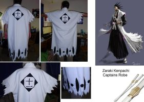 Kenpachi Captains Robe by supermutts