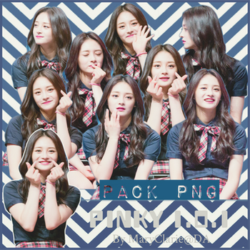 Pack PNG Zhou Jie Qiong *Pinky* (I.O.I) by MaryClarie