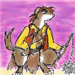 Ferahgo the Asassin - Redwall by angelblood