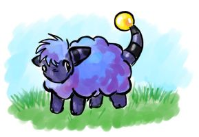 Little blue mareep by nepryne