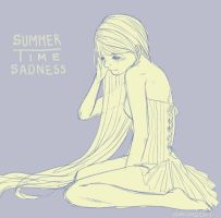 Summertime sadness... by AmiMochi