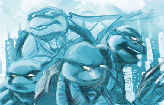 TICWAL Turtles by Nght