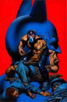 Batman Vengeance Of Bane Special cover by GlennFabry