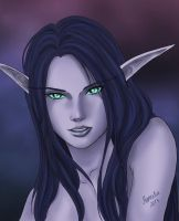 Nightelf by Maneodra