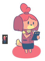 Isabelle palette thingy by FrozenNote