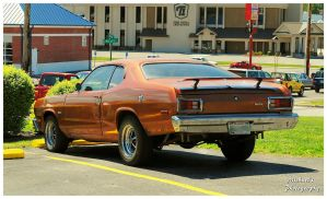 A Cool Copper Colored Plymouth Duster by TheMan268