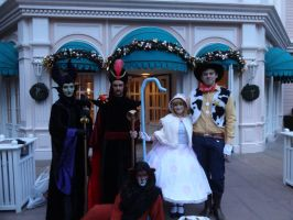 Maleficent, Jafar, Scar, Bo Peep, Woody Cosplay by MAJCosplay