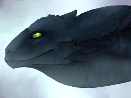 Toothless by Mollish