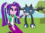 Aria and Vampos by Fluttershy626