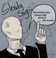 Your Friendly Neighborhood Slender Man by DietSoDuh