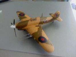 Hawker Hurricane Model. by Jas656