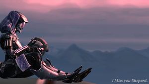 Mass Effect 3: Tali Remembers Shepard - Memories.. by EmperorDarkThunder