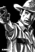 TWD .Rick Grimes. by Junior-Rodrigues