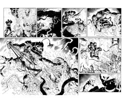 Venom 21 pgs10-11 Inks by JPRart