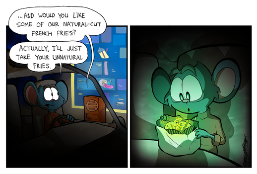 Unnatural Fries by WillDrawForFood1