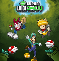 New Super Luigi U : A green hollow by MonoKhromatik