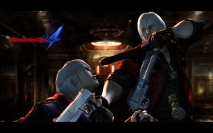 Devil May Cry 4 Wallpaper 2 by igotgame1075
