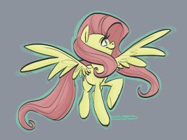 Fluttershy by RomaniZ