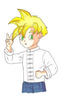 Gohan kung fu outfit by kenny-powders