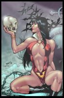 Vamperilla by ed benes by maehao