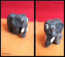 cold porcelain clay creatures by monica19rasna