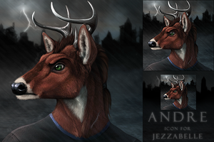 Andre Icon commission by DarkIceWolf