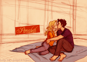 Percabeth (burdge) - colored and edited by dudalins